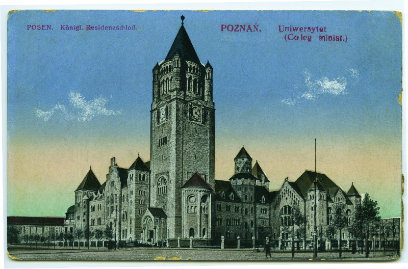 Poznań University, previously the Imperial Castle, early 20th century